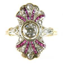 Briliantový prsten s přírodními rubínky 66168e18276